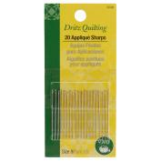 Dritz 74667 Dritz Quilting Applique Sharps Needles-Size 9 20-Pkg