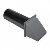 Builder's Best 010296 10.2cm Through-the-Wall Dryer Vent Hood
