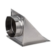 Builder's Best 89620 10.2cm Dryer Vent Eave Vent Hood