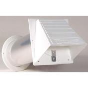 Dundas Jafine Inc. 10cm White Maxi-Flow Vent Hood PMH4WXZ