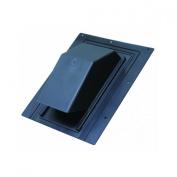 Lambro 354R 4'' Black Plastic Roof Cap
