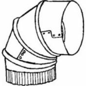 Imperial Mfg Group, Gv0307, 25.4cm 24ga Galv Adj Elbow