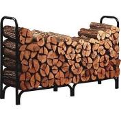 Panacea 15204 8' Black Steel Deluxe Log Rack