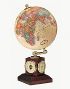 Replogle Globe 51403 Weather Watch Antique Globe, Off-White