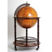 Old Modern Handicrafts Globe Drinks Cabinet Floor Standard