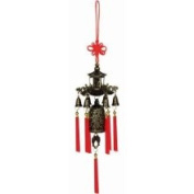 Asian Home Brass Feng Shui Wind Chime for Home Garden & Car WIN010
