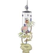 Sunset Vista Designs 80104 Coastal Collection Flamingo Windchime