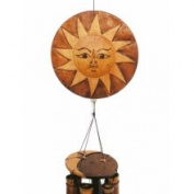 Cohasset 103N Sun/Moon Wind Chime Natural Finish