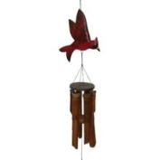 Flat Cardinal Wind Chime