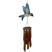 Cohasset Imports CH187B Flat Bluebird Wind Chime