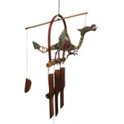 Cohasset Imports CH177 Dragon Flame Bamboo Wind Chime