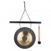Woodstock Chimes HCGONGM Hanging Chau Gong Medium