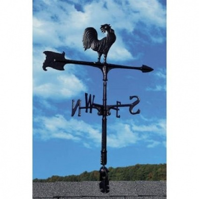 Whitehall Products Weathervanes 80cm . Cast Aluminium Rooster Weathervane 00071