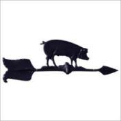 Whitehall Black 61cm Hog Accent Weathervane - 00081