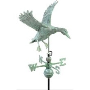 Good Directions 9605V1 Landing Duck Weathervane, Blue Verde Copper
