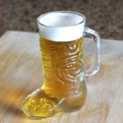 Anchor Hocking Glass Beer Boot Mug - 370ml