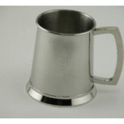Creative Gifts 11085 Bright Tankard, Stainless steel.