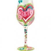 Sister My BFF Wine Glass by Lolita #117