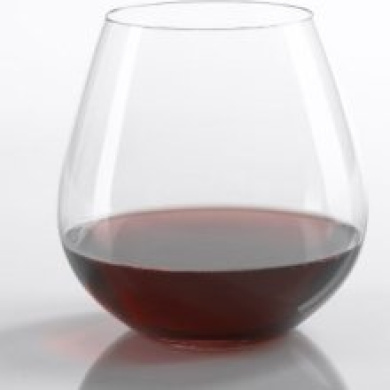 Riedel 'O' Pinot Noir/Burgundy Stemless Wine Glasses -Set of 2