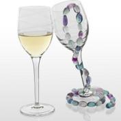 Luigi Bormioli Romantica 280ml Wine Glass Set of 4