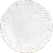 Vietri (Italy) Bellezza-White Salad Plate