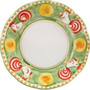 Vietri (Italy) Campagna-Rooster (Gallina) Dinner Plate