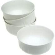 Mikasa Antique White Dinnerware - White Set of 4 Cereal Bowls