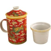 Asian Home Exquisite Porcelain Tea / Coffee Cup W. filter Fits Fits Fits Fits Fits Fits Fits LG