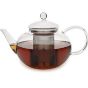 Adagio Teas Glass Teapot with Stainless Steel Infuser.