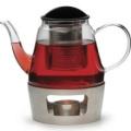 RSVP Glass Teapot & Warmer
