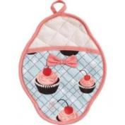 Jessie Steele 601js36b Diner Cupcakes Scalloped Pot Mitt
