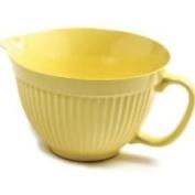 Norpro 1017 5 Quart Lemon Yellow Grip EZ Mixing Bowl