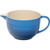 Le Creuset 1.9l Marseille Blue Stoneware Batter Bowl