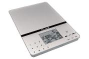 Escali Cesto Portable Nutritional Tracker Scale - Silver