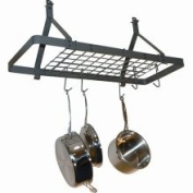 Rack It Up MPR-02 Rectangle Ceiling Pot Rack with Grid