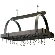 Old Dutch 101BZ Oiled Bronze Pot Rack with 24 Hooks, 30 by 50cm by 40cm