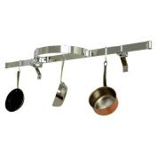 Enclume PR10-HS Premier Wall Shelf w/ Half Circle Hammered Steel