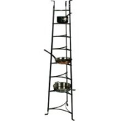 Enclume 8-Tier Hammered Steel Cookware Stand
