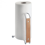 InterDesign Formbu Bambo and Stainless Steel Paper Towel Stand, 1 EA