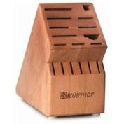 Wusthof 17-slots. Cherry Wood Knife Block
