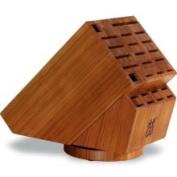 Henckels 26-slot Bamboo Swivel Knife Block