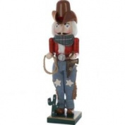 Kurt S. Adler 38.1cm . Wooden Cowboy Nutcracker C9672