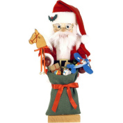 Brookstone Santa Nutcracker with Toys - Limited Edition