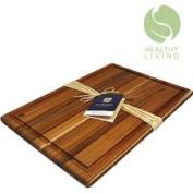 Madeira Housewares 1022 Madeira Teak Edge Grain L Carving Board