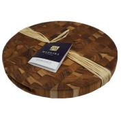 Madeira Llc Madeira Provo Grain Teak Round Chop Block Board -1032