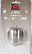 Oggi Stainless Steel Apple Kitchen Timer 7258
