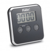 Polder TMR-606-95 Digital Kitchen Timer Black