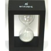 G.W. Schleidt STW6336-B 5 Minute Tea and Egg Timer - Black Frame