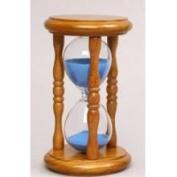 G.W. Schleidt Hourglass Sand Timer - 5 Minute Blue Sand
