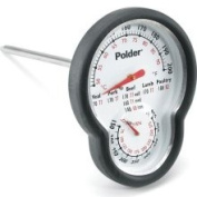 Polder 12453 Stainless Steel Dual Oven Thermometer